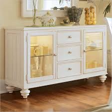 white buffet table glass top u2014 all furniture how to decorate