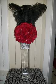 Feather And Flower Centerpieces by Centerpiece With Feathers Weddingbee