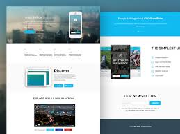 30 one page website templates built with html5 u0026 css3 templateflip