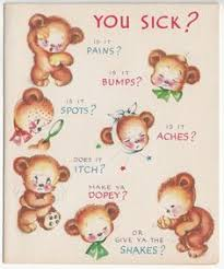 cards for the sick https flic kr p 6mm87g baby and pink bunny inside of card