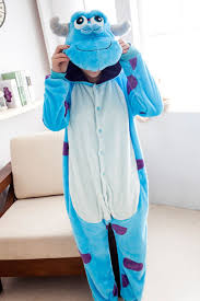 Sully Halloween Costume Adults Cheap Sully Onesie Aliexpress Alibaba Group