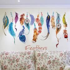 amazon com dream catcher decal feather sticker boho dreamcatcher