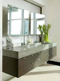 narrow double sink vanity 47 inch modern double sink bathroom