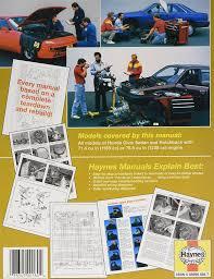 amazon com honda civic 1200 73 79 repair manual 42020 john