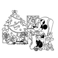 walt disney christmas coloring pages top 25 free printable cute minnie mouse coloring pages online