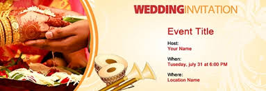 online marriage invitation free wedding invitation with india s 1 online tool