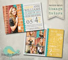 senior graduation announcement templates high school graduation announcements templates cloveranddot