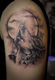 beautiful moon tattoos ideas wolf moon and moon
