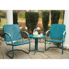 Steel Patio Furniture Sets by Traditions Metal 3 Piece Patio Bistro Furniture Set Product