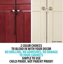 child proof cabinet locks no drilling