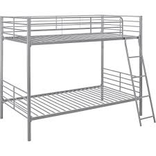 Mainstays Twin Over Twin Convertible Metal Bunk Bed Multiple - Twin bunk bed dimensions