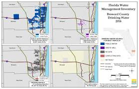 Florida Interstate Map by Broward Florida Water Management Inventory Summary Florida