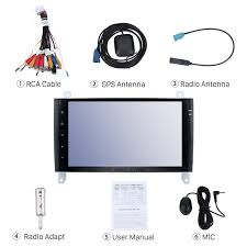 9 inch android 6 0 bluetooth radio for 2006 2012 mercedes benz
