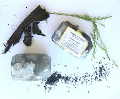 smoke pine fairy crystal soap glycerin soap black soap
