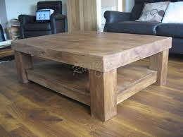 Coffee Table Pedestal Home Design Exquisite Chunky Wooden Tables Congenial Plus