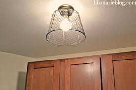 diy wire basket light liz blog