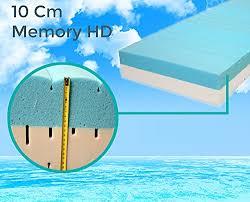 materasso 160 x 200 materasso memory foam e waterfoam lastra rigida