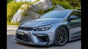 volkswagen scirocco r modified dia show tuning 2016 vw scirocco extrem u2013 430ps aspec ppv430r