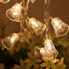 newest 20 led string lights bell festoon light