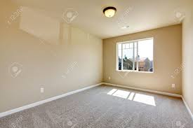 Interior Design In Usa by New Empty Room With Beige Carpet New House Development In Usa