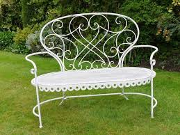 Shabby Chic Patio Furniture by Best 20 Wrought Iron Garden Furniture Ideas On Pinterest