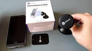 porta telefono auto supporto da auto magnetico iclever