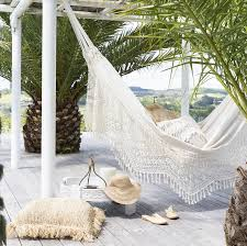deluxe brazilian double hammock u2013 natural u2013 maison u0026 maison