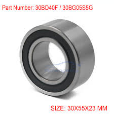 nissan murano ac compressor new ac compressor pulley clutch bearing cross 30bd40duk 30mm 55mm