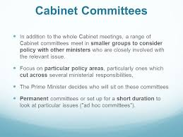 Cabinet Responsibilities The Prime Minister And Cabinet Ppt Online Download