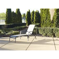 Outdoor Lounge Chair Cosco Outdoor Adjustable Aluminum Chaise Lounge Chair Serene Ridge