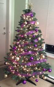 purple tree image ideas skirts in garland