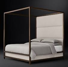 high panel canopy bed