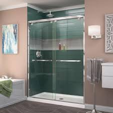 Framed Shower Door Replacement Parts Dreamline Encore 56 In To 60 In X 76 In Framed Sliding Shower