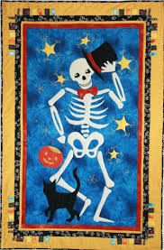 Dancing Halloween Skeleton by 81 Best Dia De Los Muertos Quilts Images On Pinterest Skull