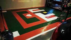Interlocking Garage Floor Tiles Amazon Com Speedway Garage Tile Interlocking Garage Flooring 6