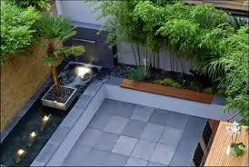 back yard designer contemporary backyard design