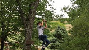 Building A Zip Line In Your Backyard by How To Make A Backyard Zipline 9 Steps