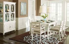 American Drew Dining Room Furniture American Drew Curio China Cabinet In White