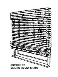 Blinds Outside Of Window Frame Window Blinds Free Shipping