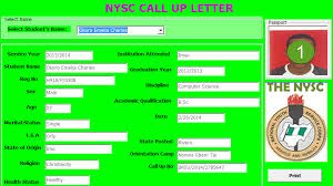 nysc posting system