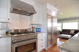 kitchen ideas with white cabinets and stainless steel appliances white kitchen with stainless steel appliances