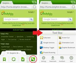 dolphin browser for android apk new dolphin mini browser aims to bring faster browsing to android