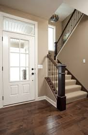 love the color of the walls for the entry way maybe make thee