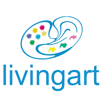 painting palette logo design