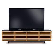 bdi corridor oak low modern tv stand eurway furniture