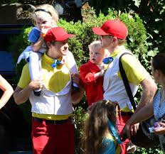 Neil Patrick Harris Family Halloween Costumes by 19 Times Celebrity Parents Totally Nailed Halloween Babycenter Blog