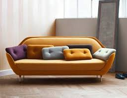 Shelllike Sofa Offers A Unique Seating Experience FAVN By Jaime - Danish design sofas