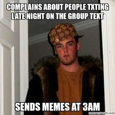 Group Text Meme - image jpg