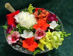 edible flower garnish types of common flowers you can eat