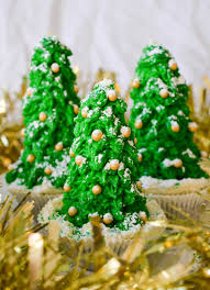 christmas tree cupcakes dolly dowsie